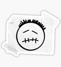 CACTUS JACK Face - Logo Travis Sticker
