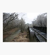 Gravette Trestle Photographic Print
