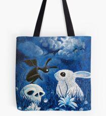 Bunny Reaper Tote Bag