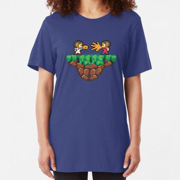 Jokenpo - Alex vs. Kidd Slim Fit T-Shirt
