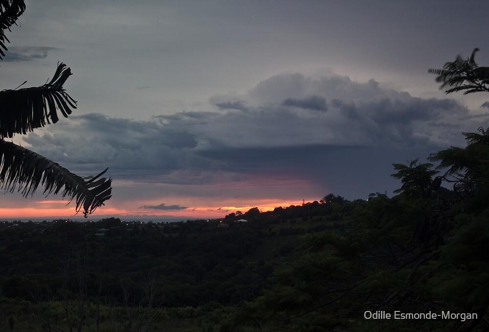 Morning storm clouds by Odille Esmonde-Morgan