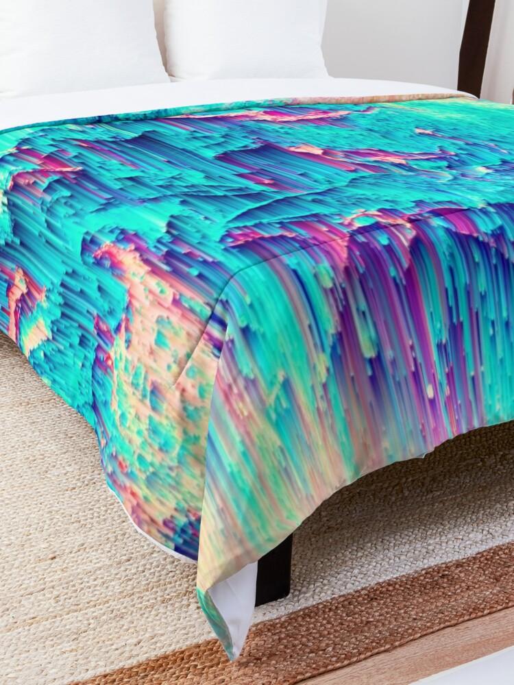 Alternate view of Breaking Chemistry Comforter