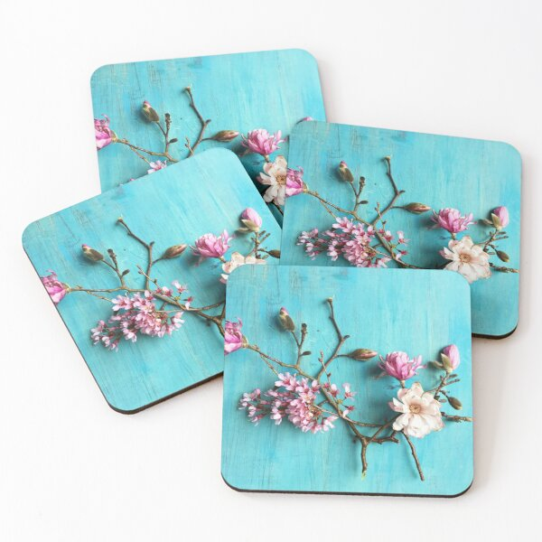 Flowers of Spring Coasters (Set of 4)