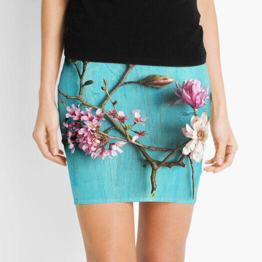 Flowers of Spring Mini Skirt
