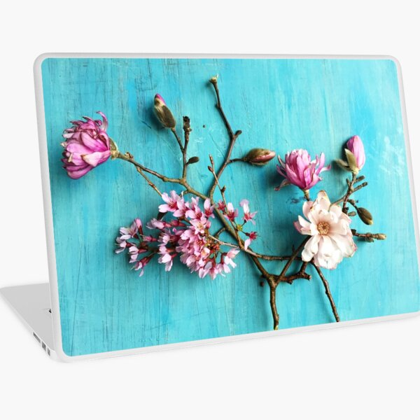 Flowers of Spring Laptop Skin