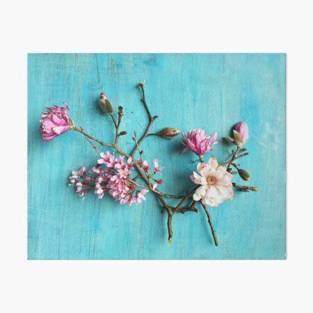 Flowers of Spring Art Board Print