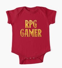 RPG Gamer Role Playing Gamer T Shirt Kids Clothes