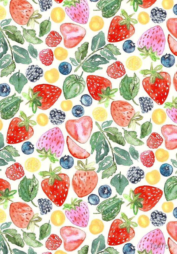 Summer Berries  by TigaTiga