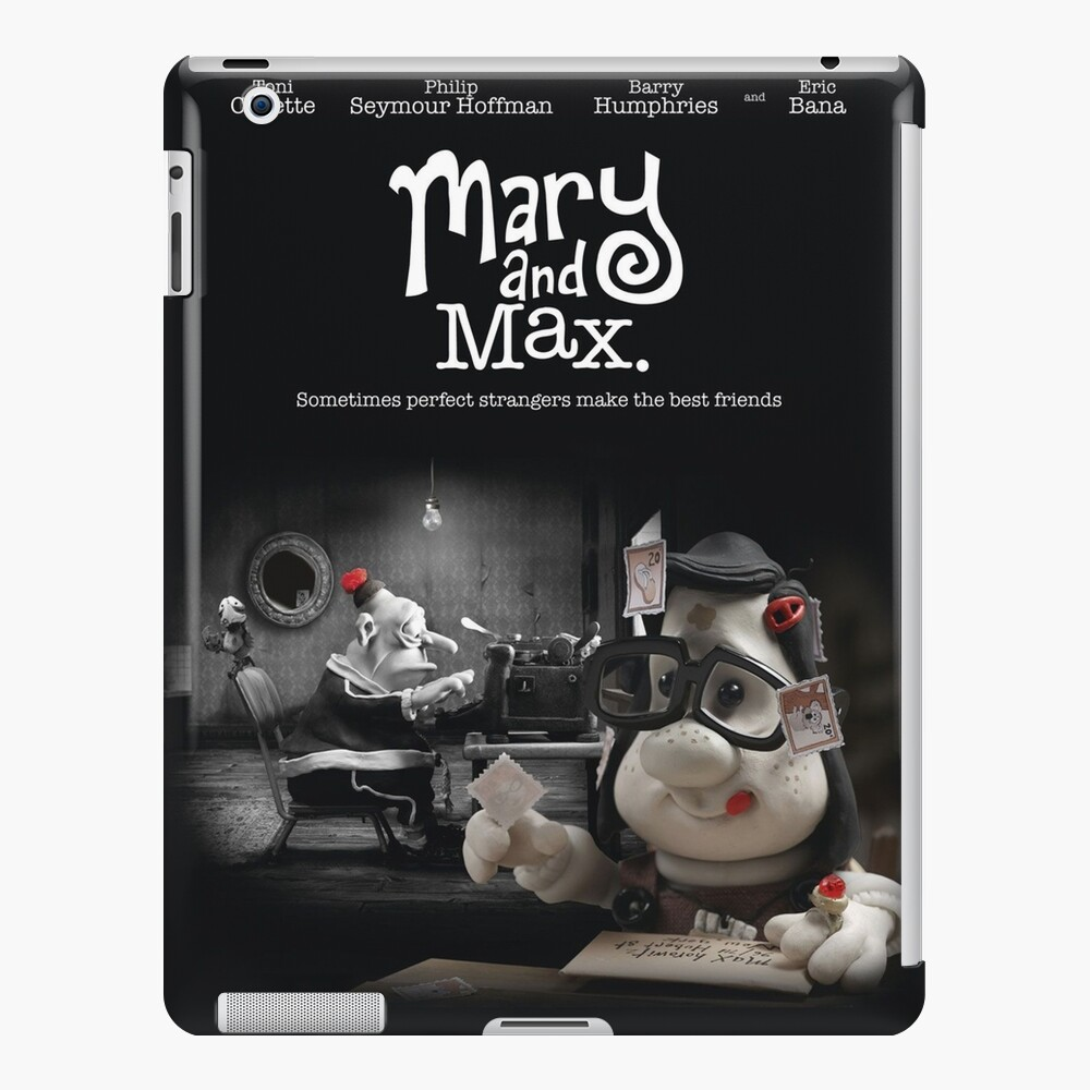 Mary And Max Ipad Case Skin By Flowerly Redbubble