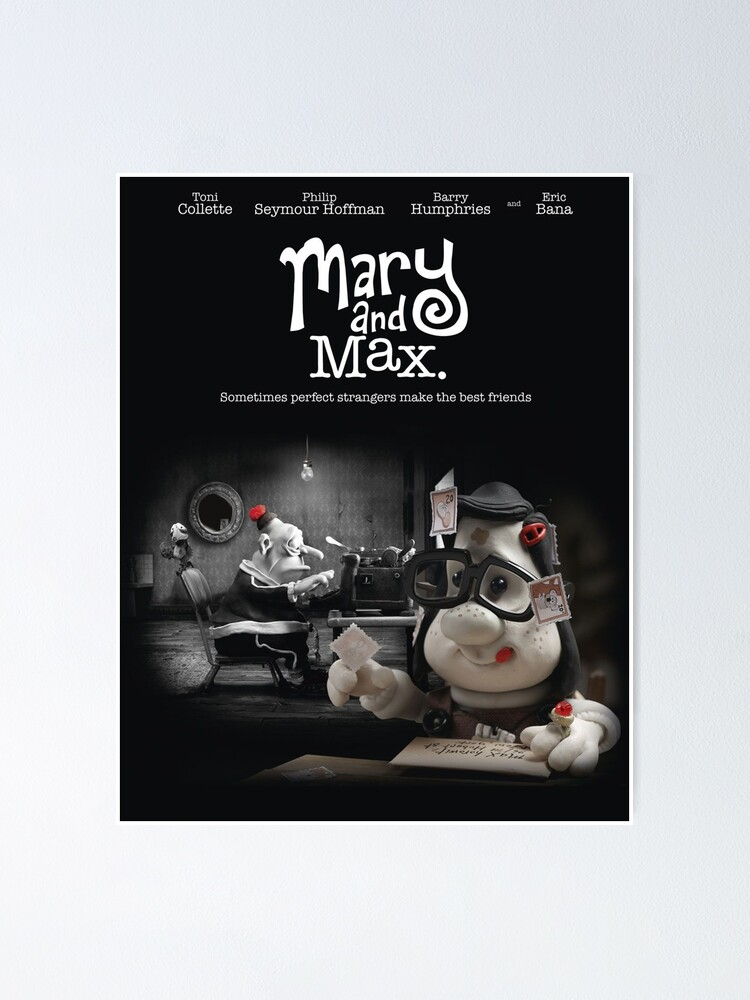 Mary And Max Poster By Flowerly Redbubble