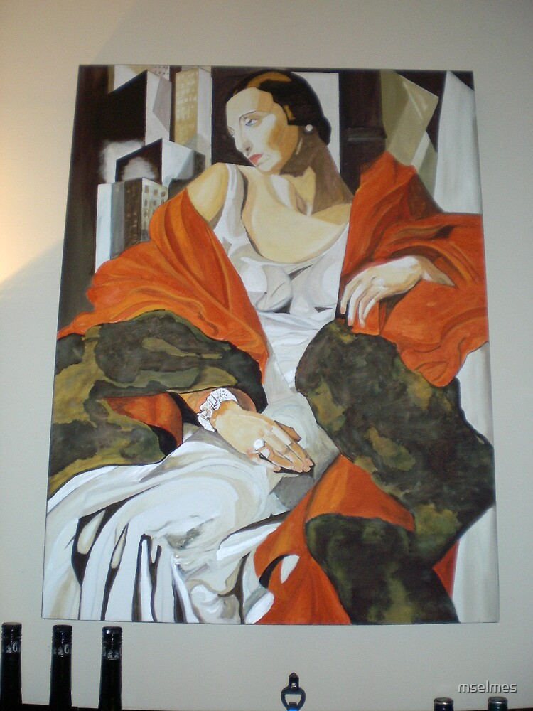 temara de lempica painted copy by mselmes