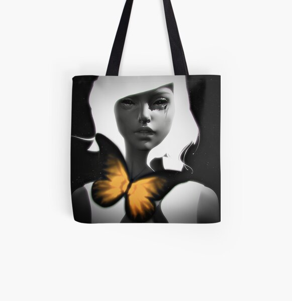 It's a Shot In the Dark All Over Print Tote Bag