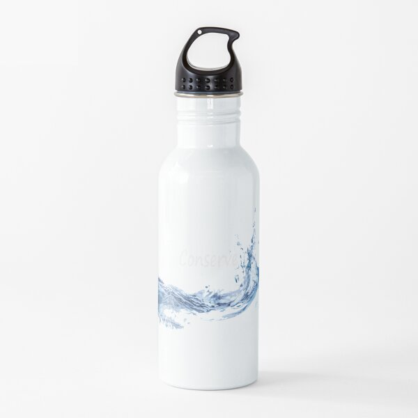 Conserve Water Conservation Water Bottle