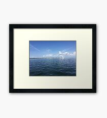 Perfect Florida Day Framed Print