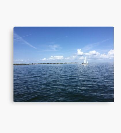 Perfect Florida Day Canvas Print