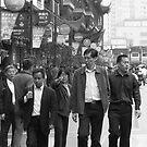 Streets of Shanghai... by Rene Fuller