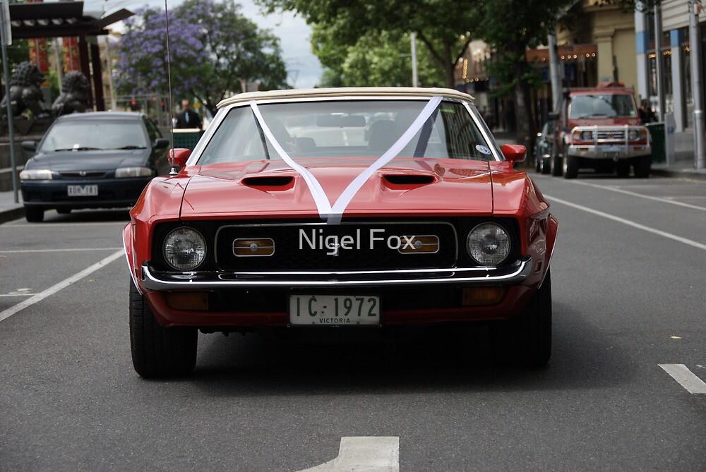 Mustang Convertable  by Nigel Fox