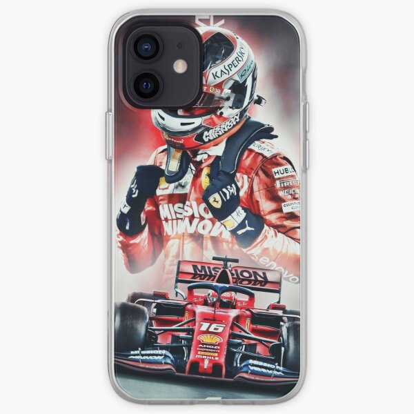 Charles Leclerc Poster iPhone Soft Case