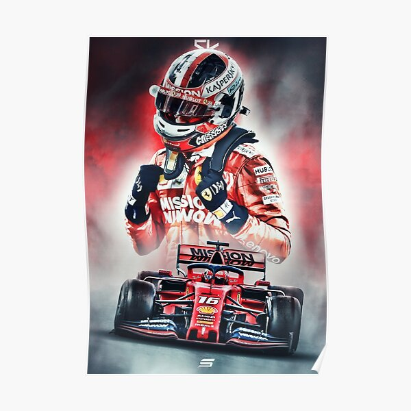 Charles Leclerc Poster Poster