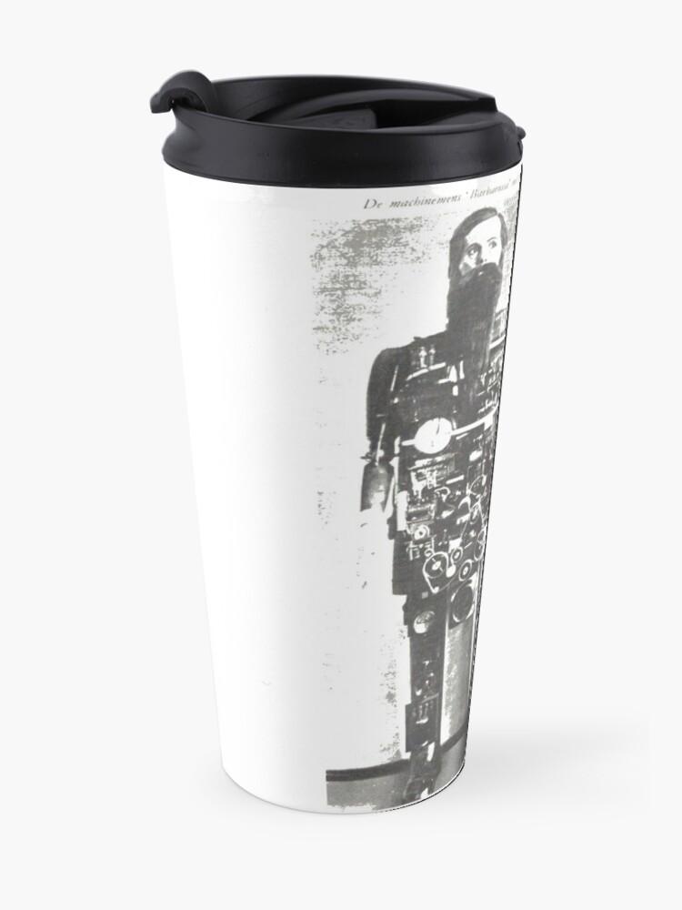 Alternate view of #Automaton #Robot - #Steam #Punk Travel Mug