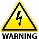 High Voltage Warning Sign Graphic by dcohea