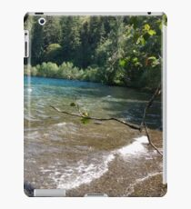 Crescent Lake, Washington iPad Case/Skin