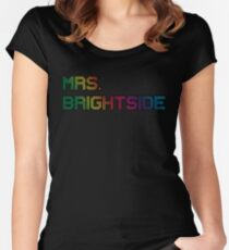mrs. brightside Women's Fitted Scoop T-Shirt