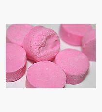 Pink Mints (PHOTOGRAPH) Photographic Print