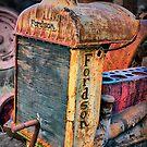 Fordson Tractor, Port Arthur, Tasmania. by Philip Hallam