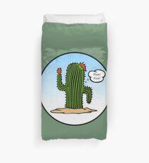 Spanish Cactus Duvet Cover