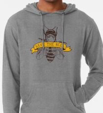 Save The Bees! Lightweight Hoodie