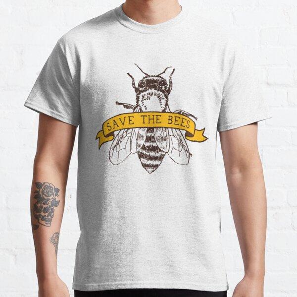 Rette die Bienen! Classic T-Shirt