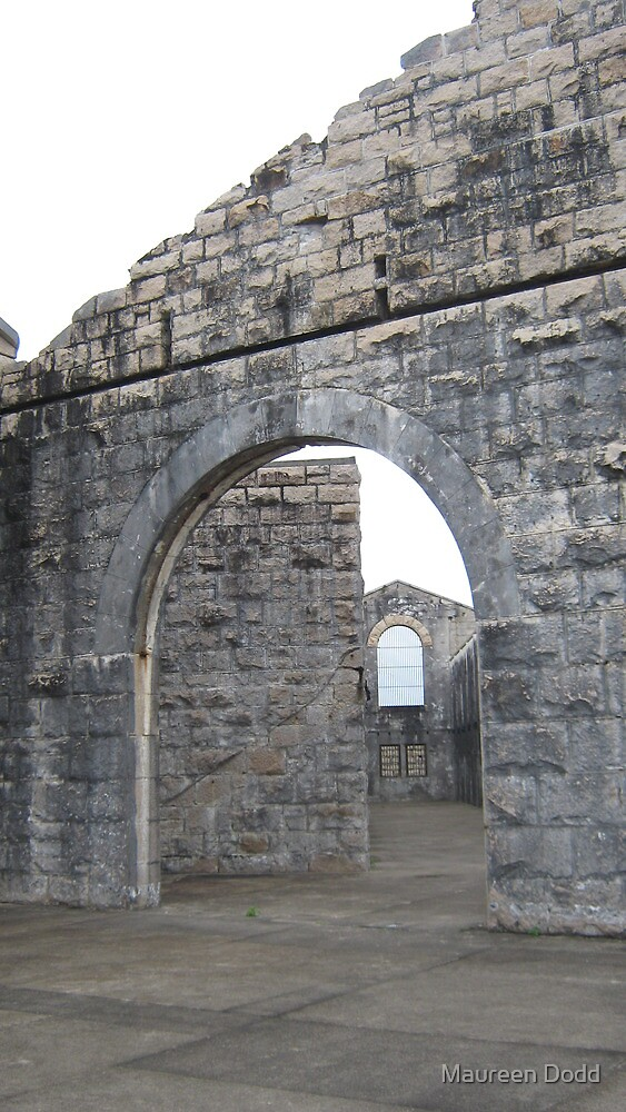 Interior of Historic Trial Bay Gaol. by Maureen Dodd