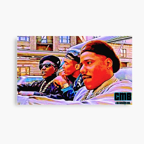 CMB FOR LIFE Canvas Print
