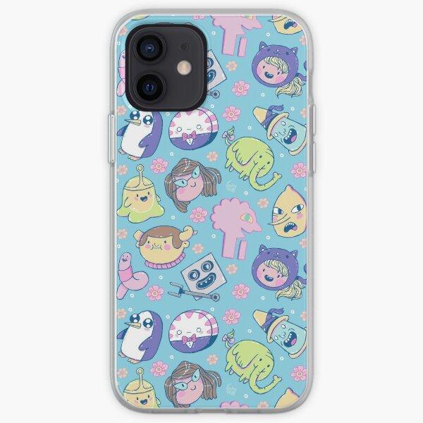 Adventure Time Friends 2 iPhone Soft Case