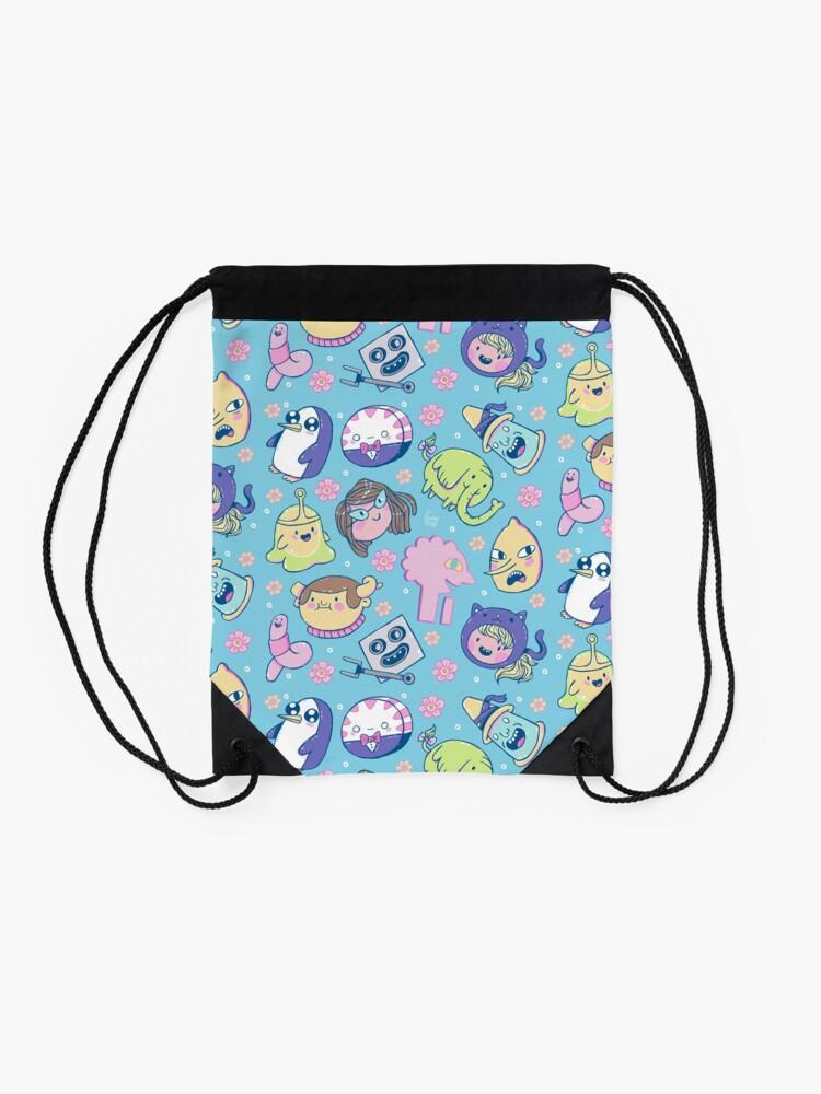 Alternate view of Adventure Time Friends 2 Drawstring Bag