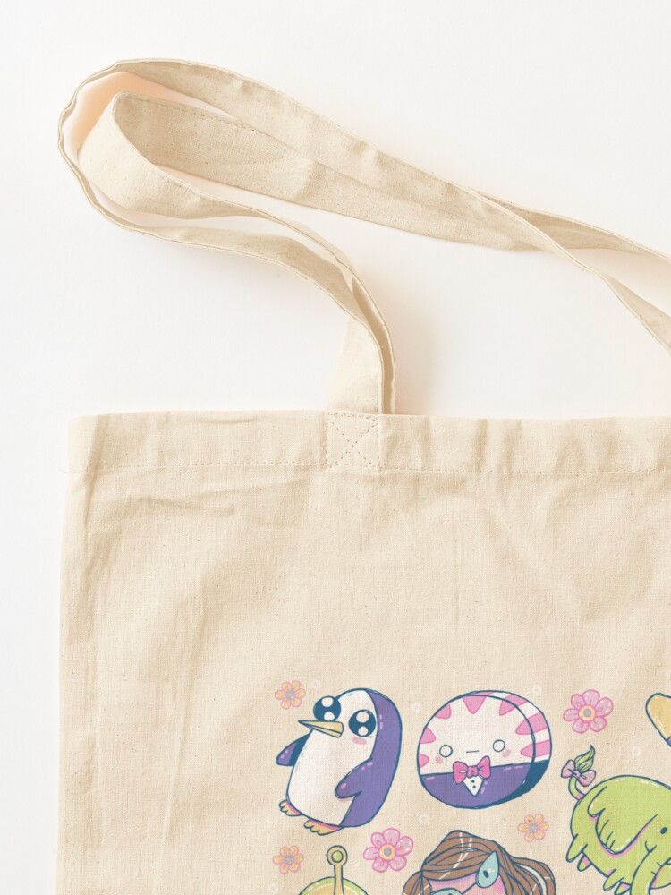 Alternate view of Adventure Time Friends 2 Tote Bag