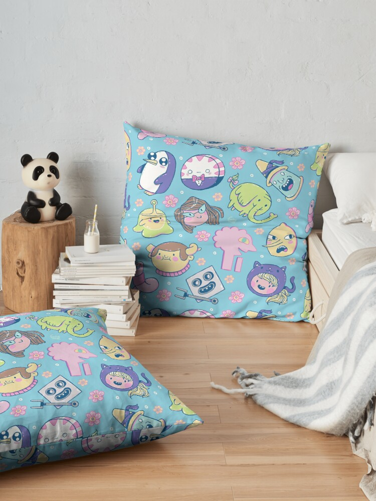 Alternate view of Adventure Time Friends 2 Floor Pillow