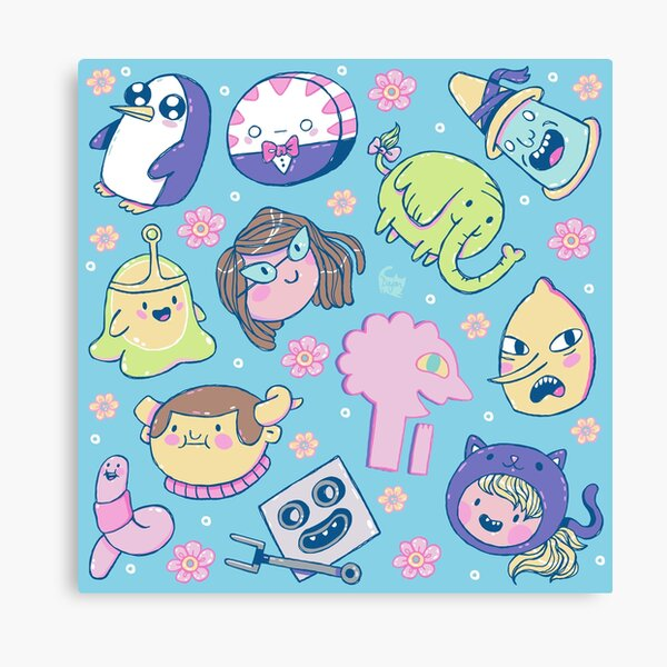 Adventure Time Friends 2 Canvas Print
