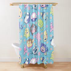 Adventure Time Friends 2 Shower Curtain