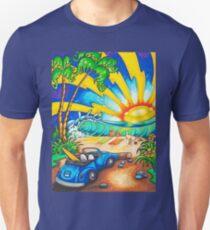 Surf Sunset Unisex T-Shirt