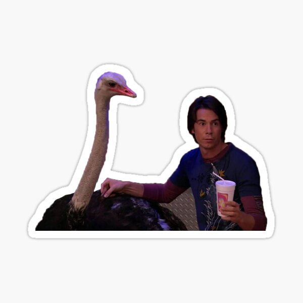 iCarly Spencer Smoothie Sticker