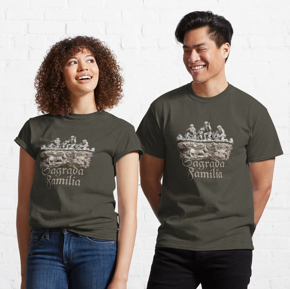 Women/'s Basilica De La Sagrada Familia Premium T-Shirt