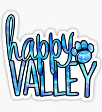 Happy Valley Galaxy Sticker