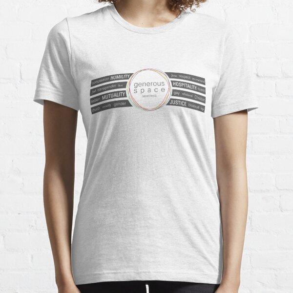 Generous Space Ministries - Values Essential T-Shirt