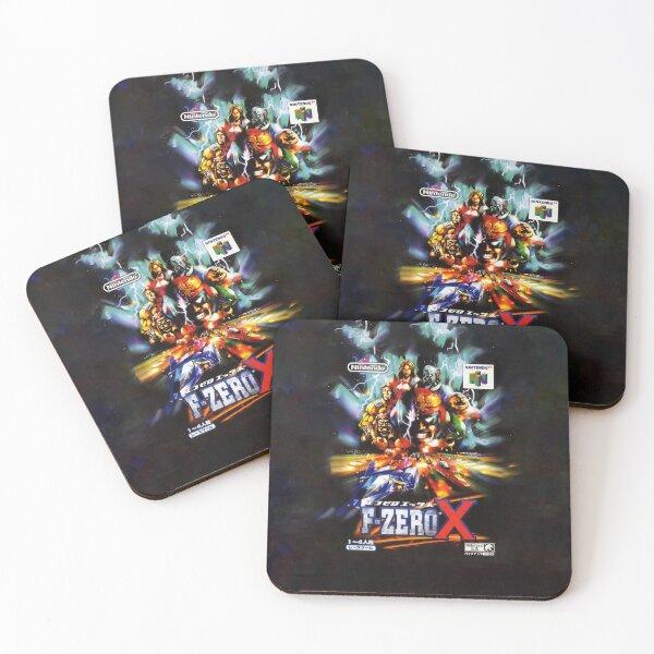 F-Zero X Japanese Promo Coasters (Set of 4)