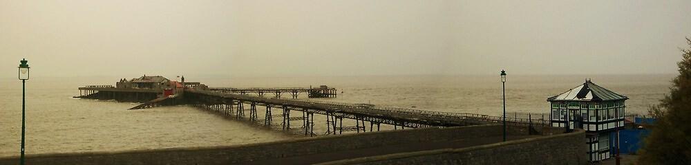 Weston Lifeboat Pier by Susie Hawkins