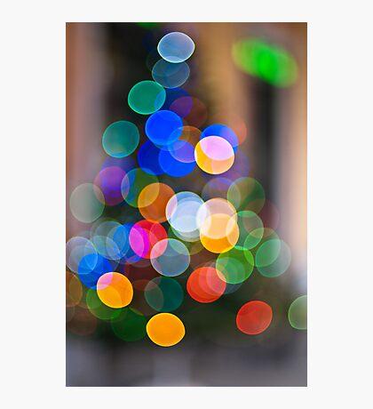 Christmas OOF Photographic Print