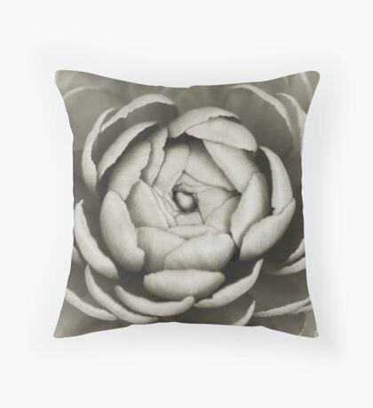 Heart of a buttercup Throw Pillow