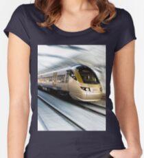 Gautrain - High Speed Commuter Train Women's Fitted Scoop T-Shirt
